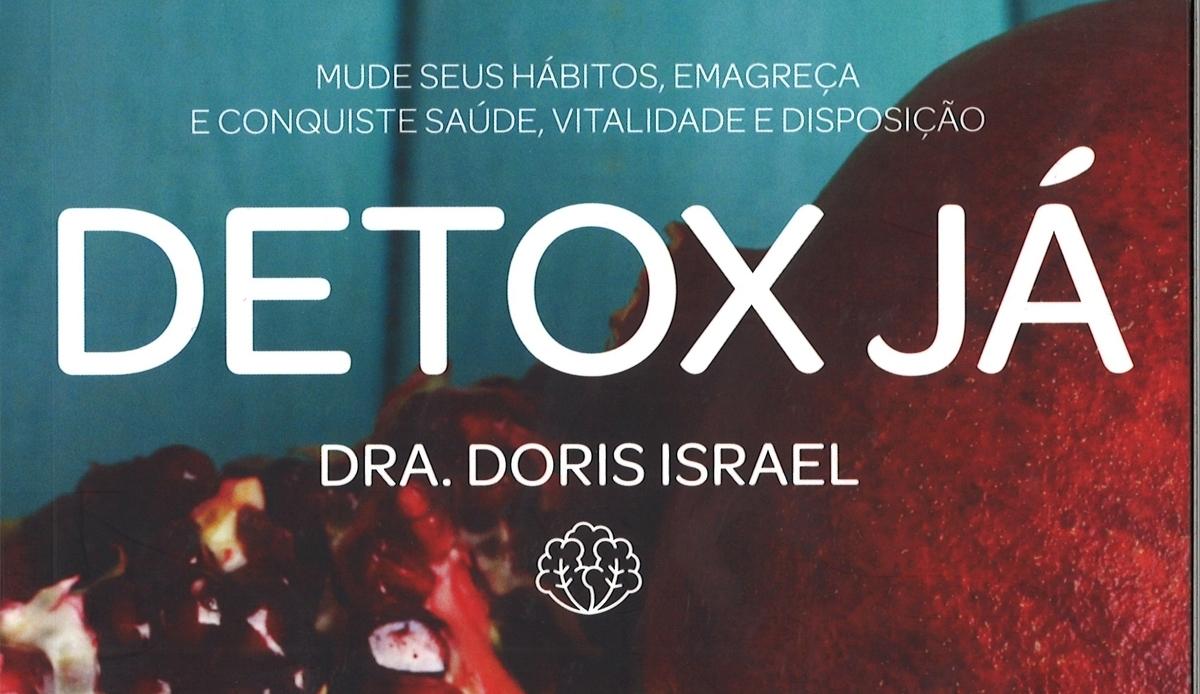 Livro 'Detox Já' une saúde com mente mis tranquila