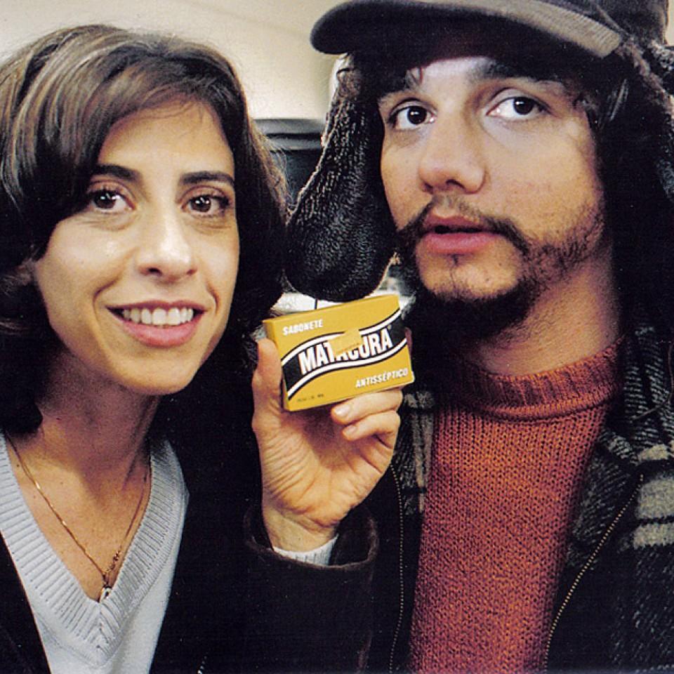 Com Fernanda Torres, em Saneamento básico, de Jorge Furtado
