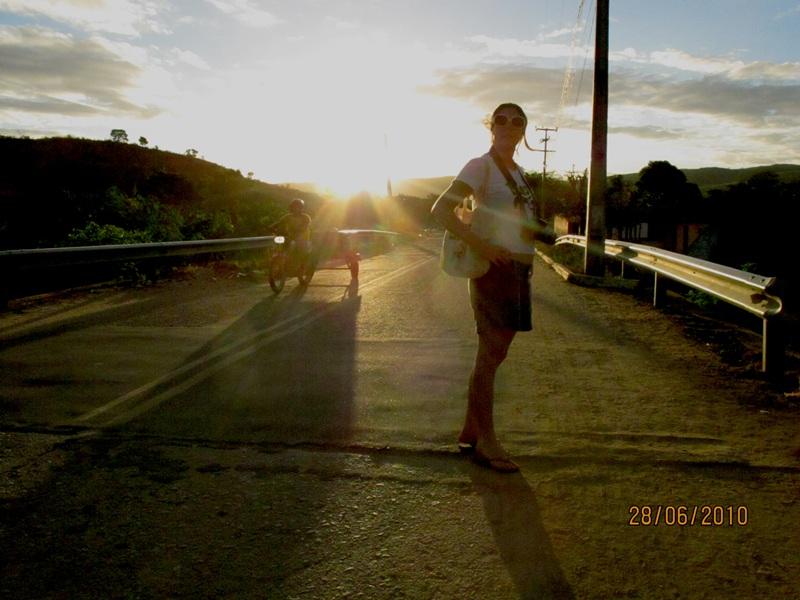 Nova Olinda - CE - Carol no por do sol