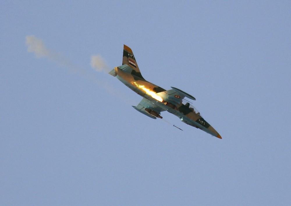 Caça das forças Sírias