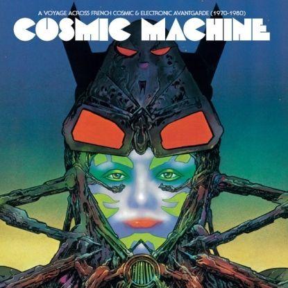 6 - Cosmic Machine – A Voyage Through Cosmic & Electronic Avantgarde (1970-1980) (Because UK) - Compilação de produções eletrônicas vintage francesas, com produções desconhecidas de artistas conhecidos, como Jean Michel Jarre, Serge Gainsbourg e Daniel Vangarde (pai de Thomas Bangalter, metade do Daft Punk)