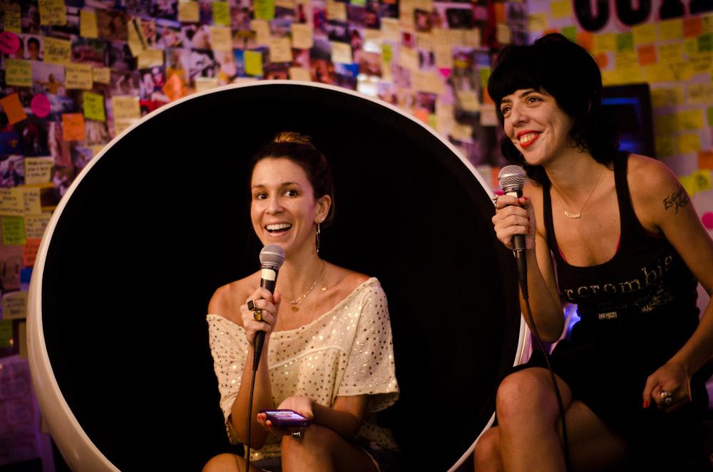 Sarah Oliveira e Nina Lemos