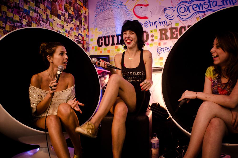 Sarah Oliveira, Nina Lemos e Carol Rocha, a @tchulimtchulim