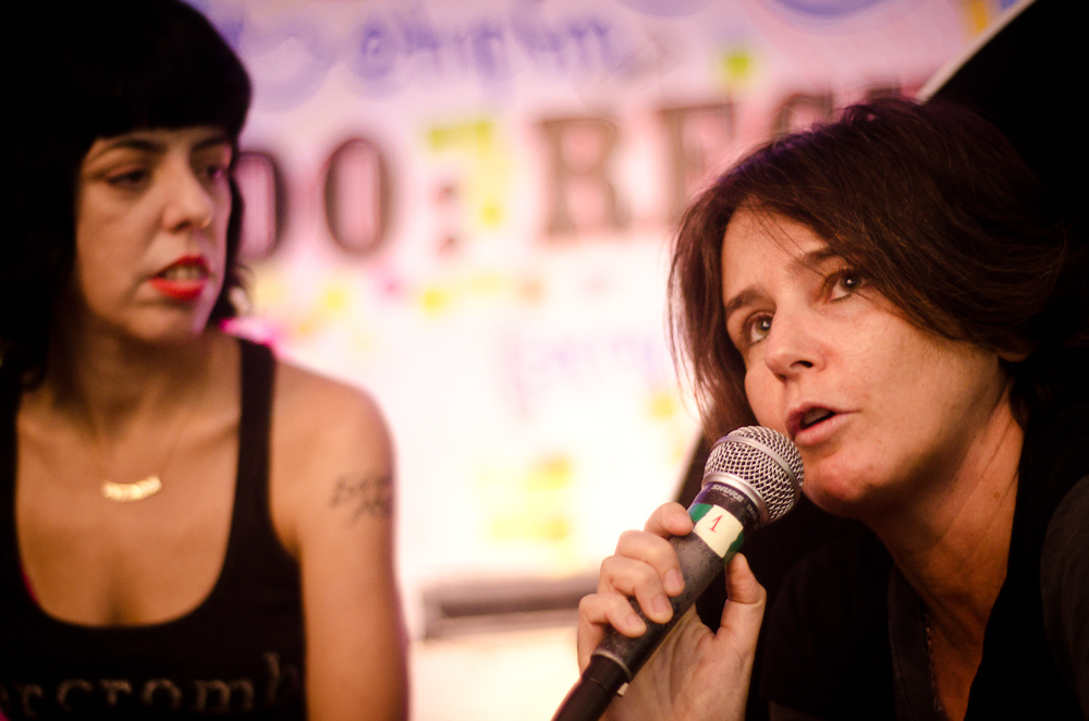 Nina Lemos e Milly Lacombe
