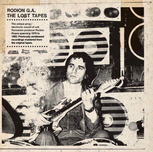 9- Rodion G.A. - The Lost Tapes (Strut/!K7) - Rock progressivo com boogie do leste europeu, feito com um órgão soviético, uma bateria eletrônica da Alemanha oriental, um teclado de brinquedo da Casio e um gravador de fita. O romeno Rodion Ladislau Rosca era um gênio. Pena que só descobrimos isso quarenta anos depois