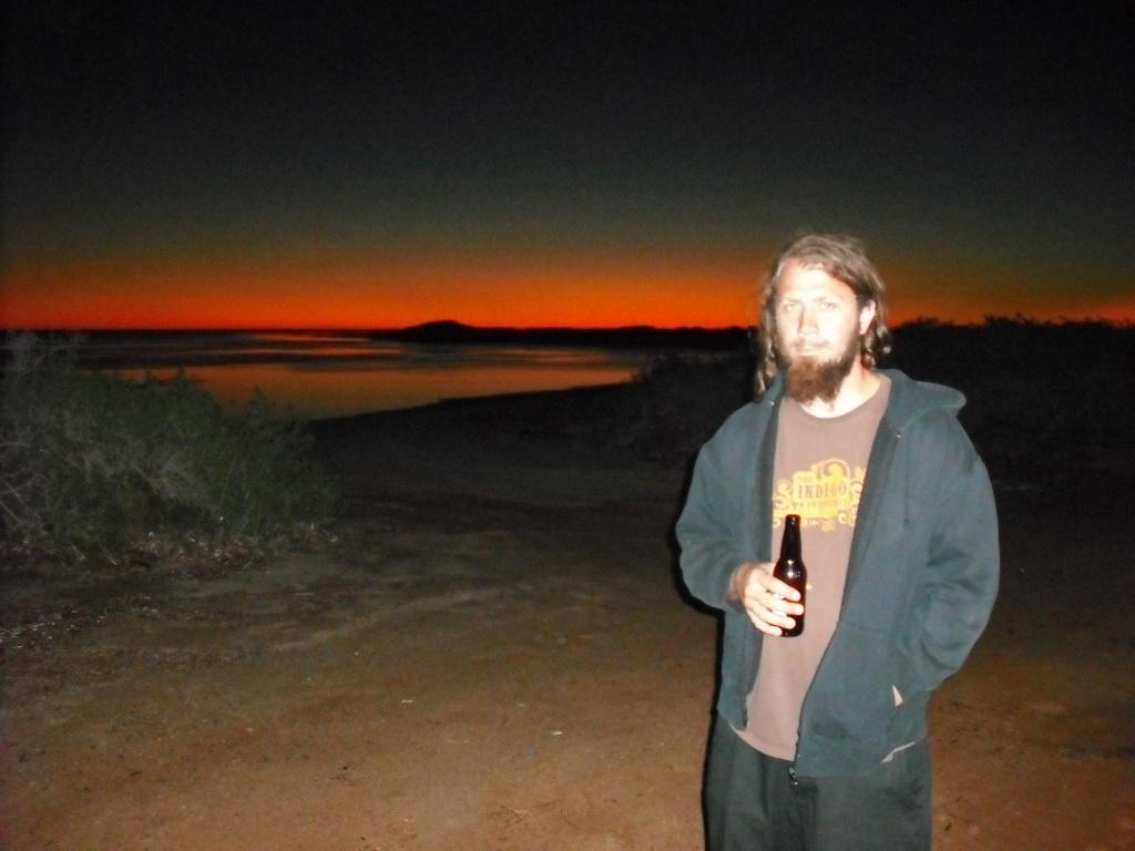 Em pleno deserto