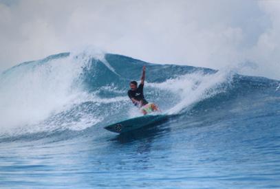 O surfe brasileiro agradece
