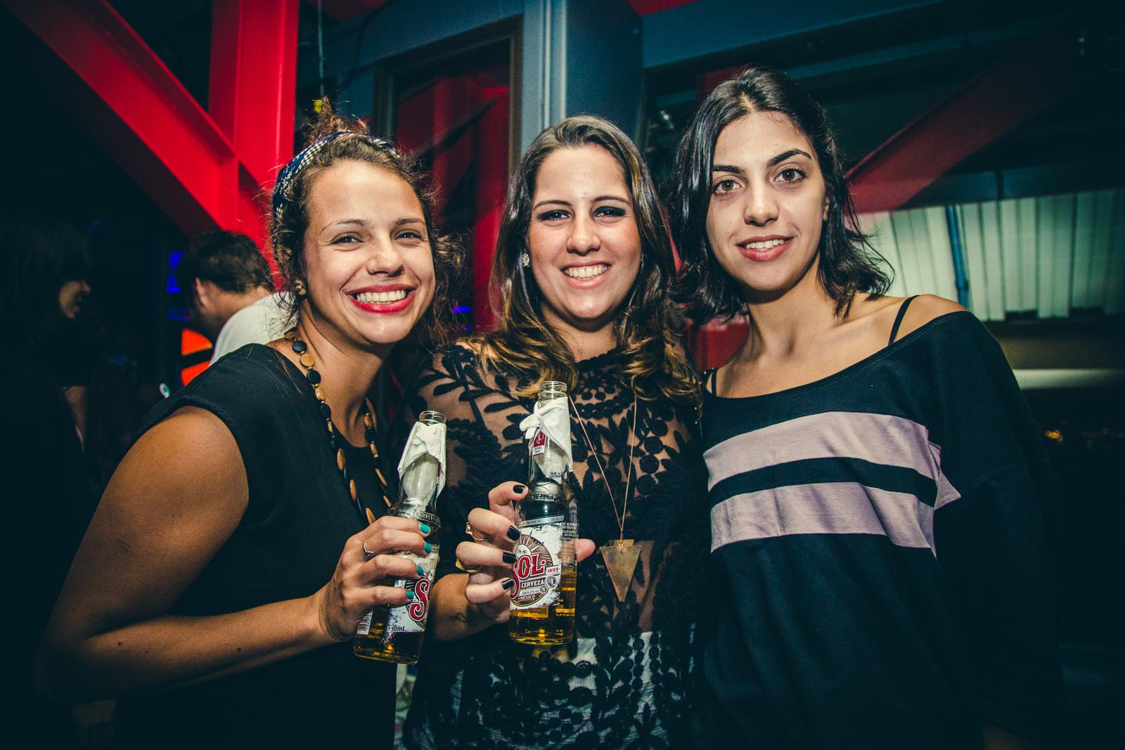 Aline Croce, Beatriz Naccacche e Mariana Adame