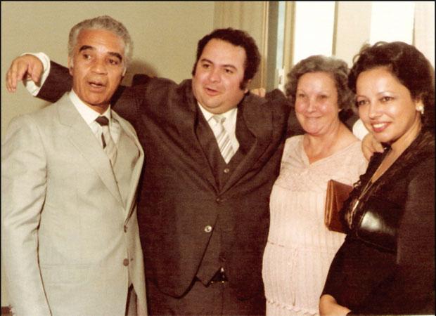 Com os pais na posse como presidente da Febem-MG
