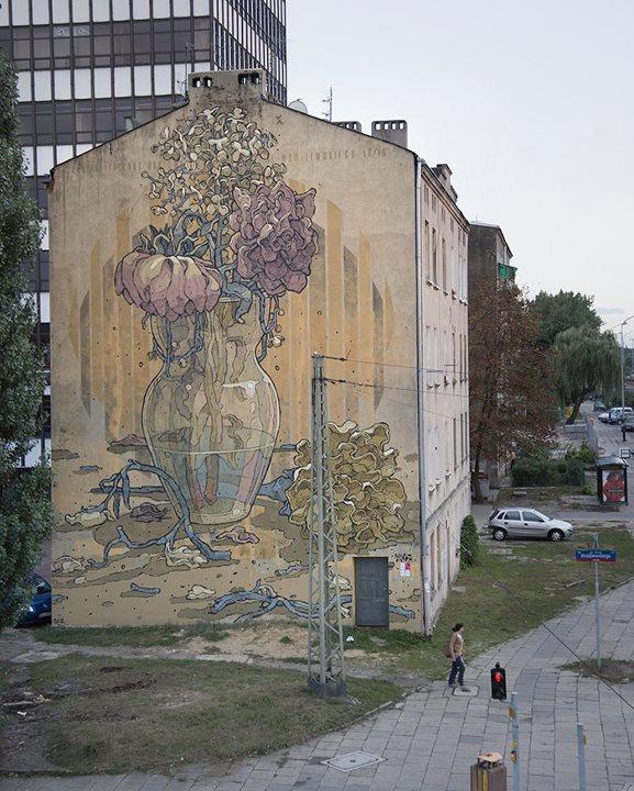 O trabalho do street artist espanhol ARYZ