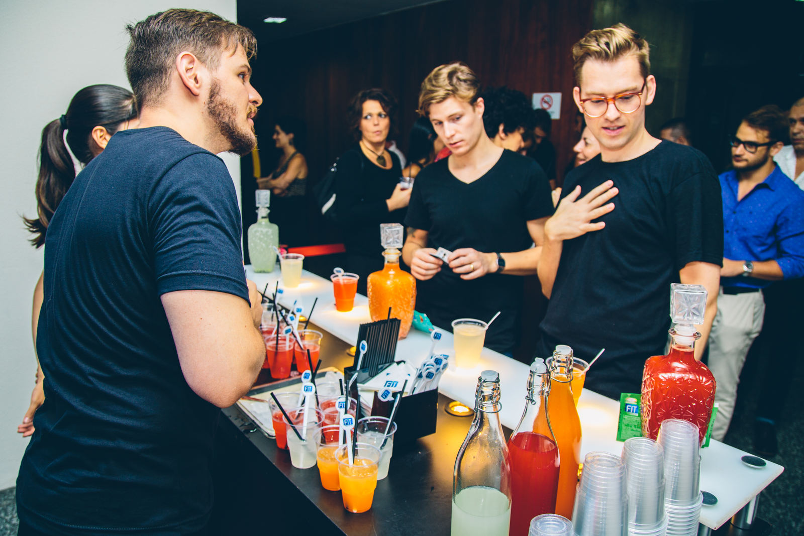Parceiro da Trip, o bar da FIT apresentou seus sabores inspirados em bebidas famosas