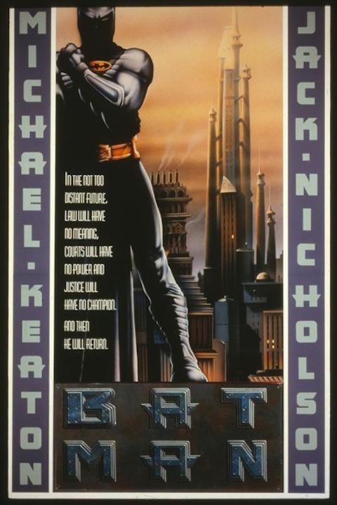 Poster rejeitado de Batman (1989)