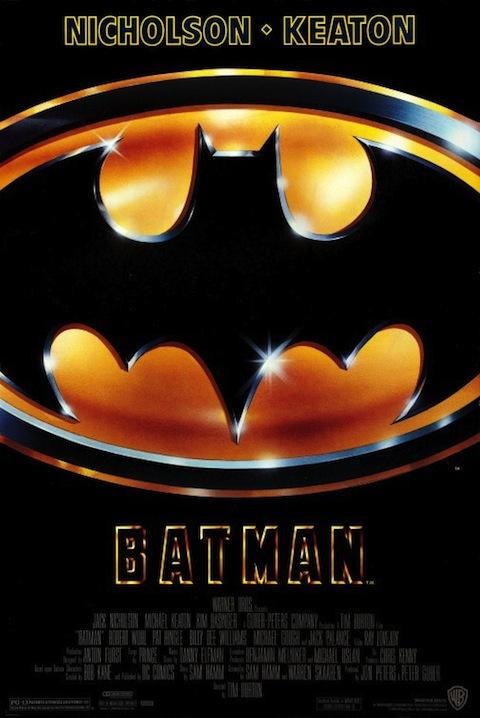 Poster oficial de Batman (1989)