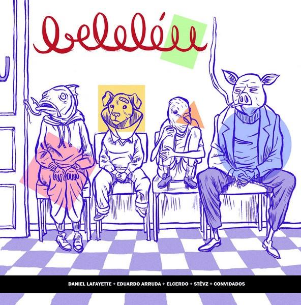 Capa da primeira edição da revista Beleléu