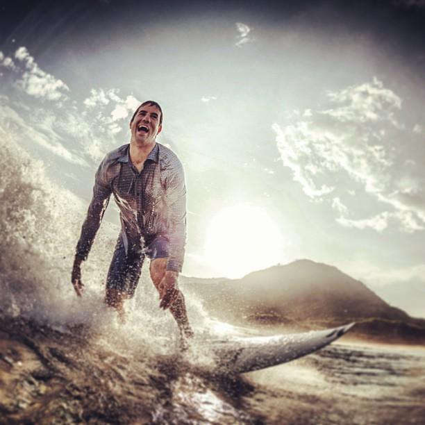 Bob Burnquist: sessão de surf social