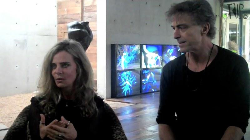 Bruna Lombardi e Carlos Alberto Ricelli