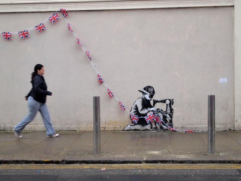 Banksy 2012