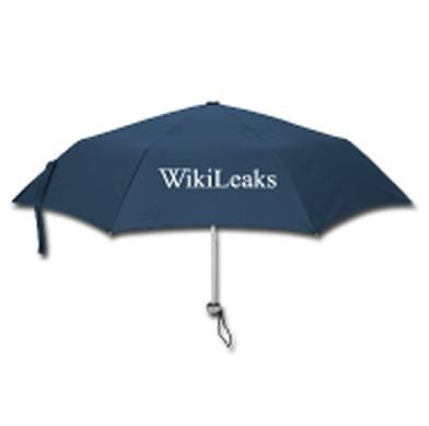 O WikiLeaks vaza, mas o guarda-chuva (tomara que) não