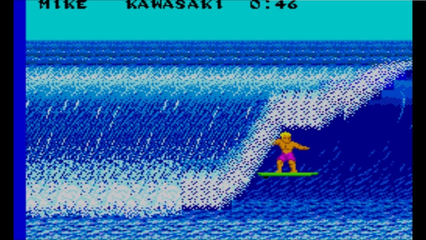 """California Games - No Brasil, o game chegou com o sugestivo nome """"Jogos de Verão"""". O título resume muito bem o que dá para encontrar nos cartuchos de MegaDrive, Master System ou Genesis - plataformas que popularizam o California Games por aqui. São seis modalidades esportivas: skate half-pipe, BMX, patins, frisbee, surfe e embaixadinha. Sim: embaixadinha. Dá para ganhar mais pontos dando uma bolada na gaivota que passa sobre a cabeça do personagem."""