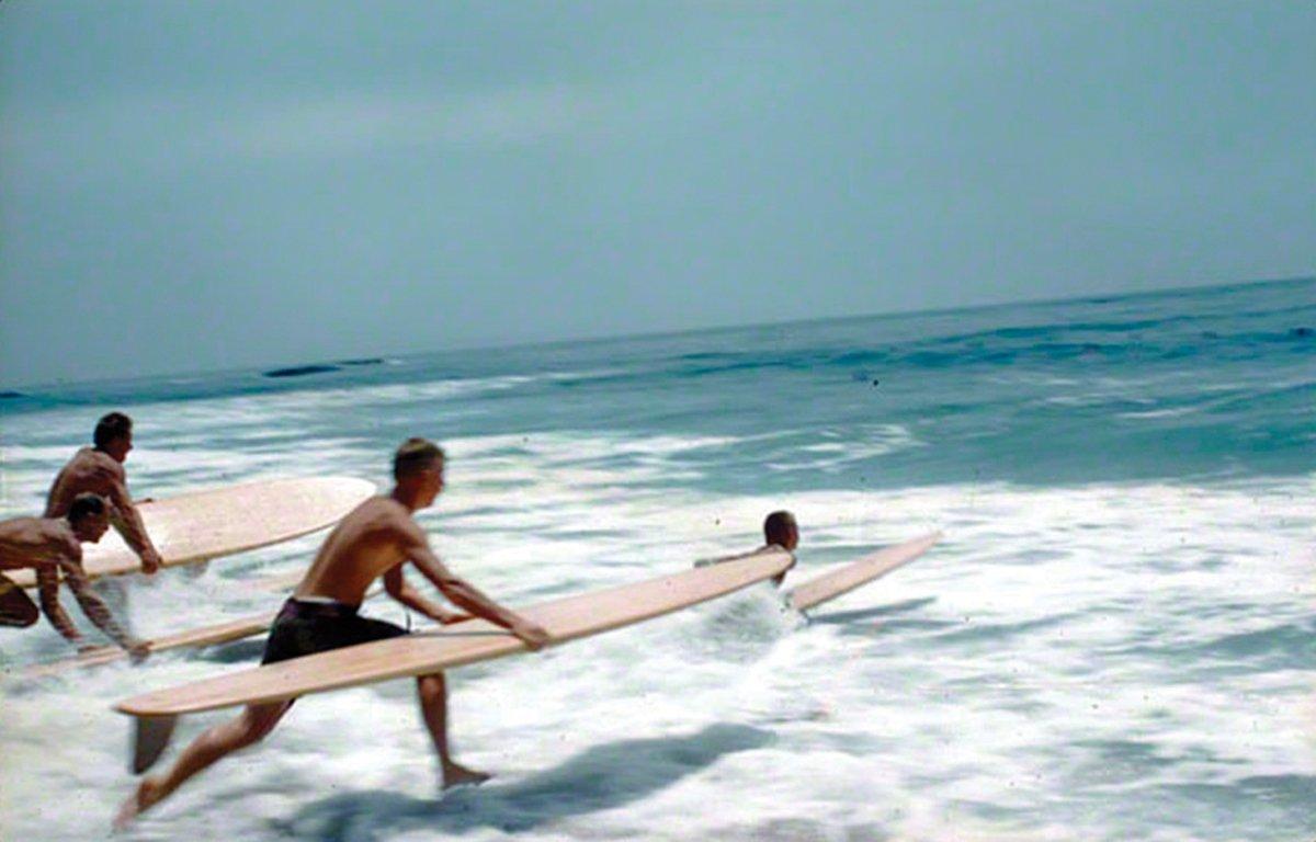 A era de ouro do surf
