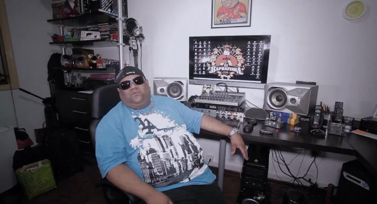 DJ Baphafinha, um dos pioneiros do funk da Baixada Santista