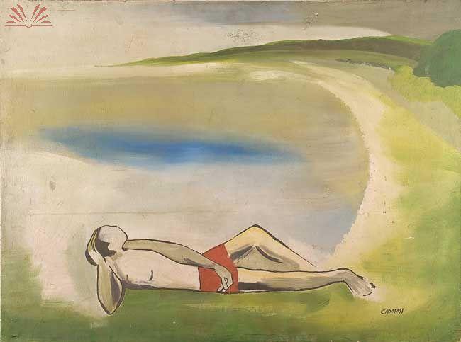 Dorival Caymmi - O mito da MPB teve uma fase de pintor que rendeu algum barulho na mídia brasileira. Durante os anos 70, o compositor criou seus melhores quadros