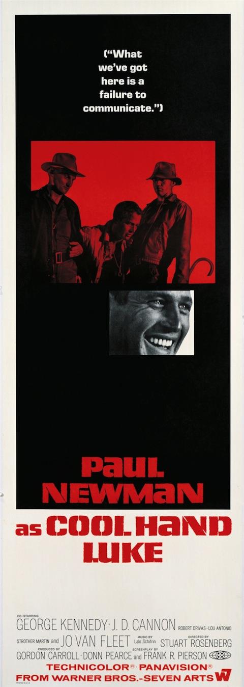 Poster rejeitado de Rebeldia Indomável (1967)