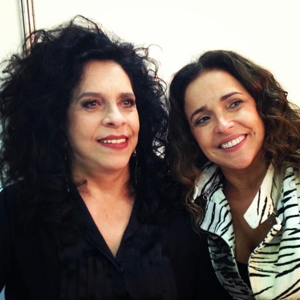 Musas da Bahia: Daniela Mercury e Gal Costa posam juntas em foto do Instagram de Dani
