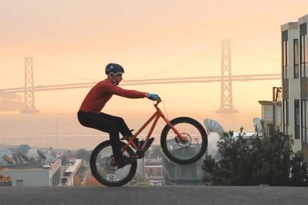Danny MacAskill em São Francisco