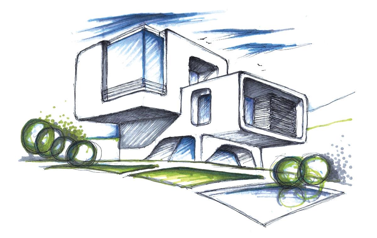 O traço de T. estampam as criações da designer israelense Michal