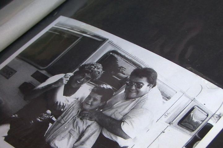 Na época de Faustinho, com apresentador Fausto Silva