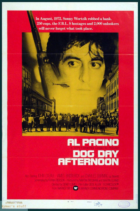 Poster oficial de Um Dia de Cão (1975)