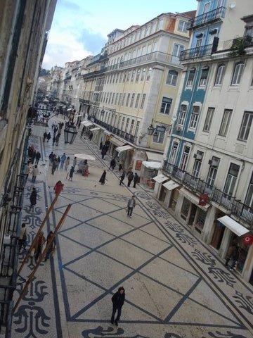Centro antigo de Lisboa