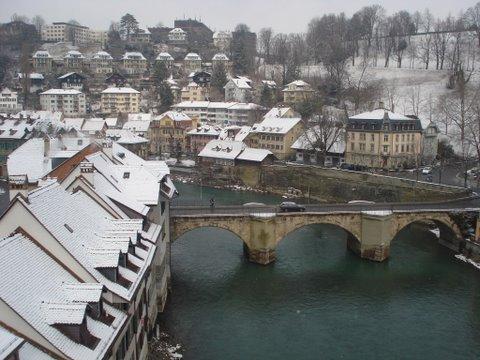Vista da cidade de Berna
