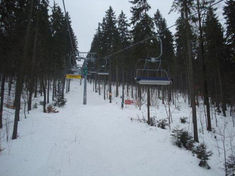Snowboard nos arredores de Praga