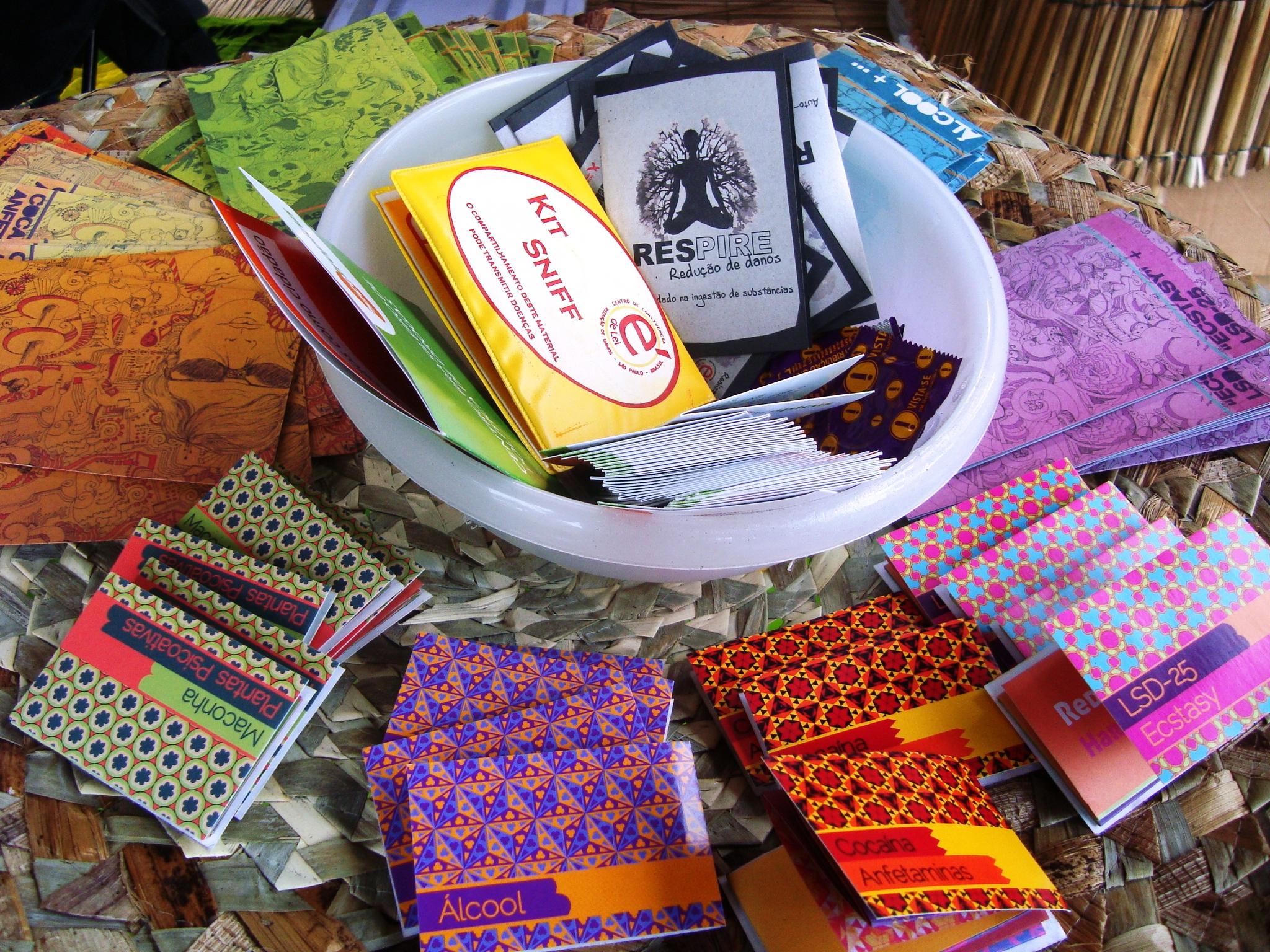 Os kits e cartilhas de prevenção do Projeto Respire