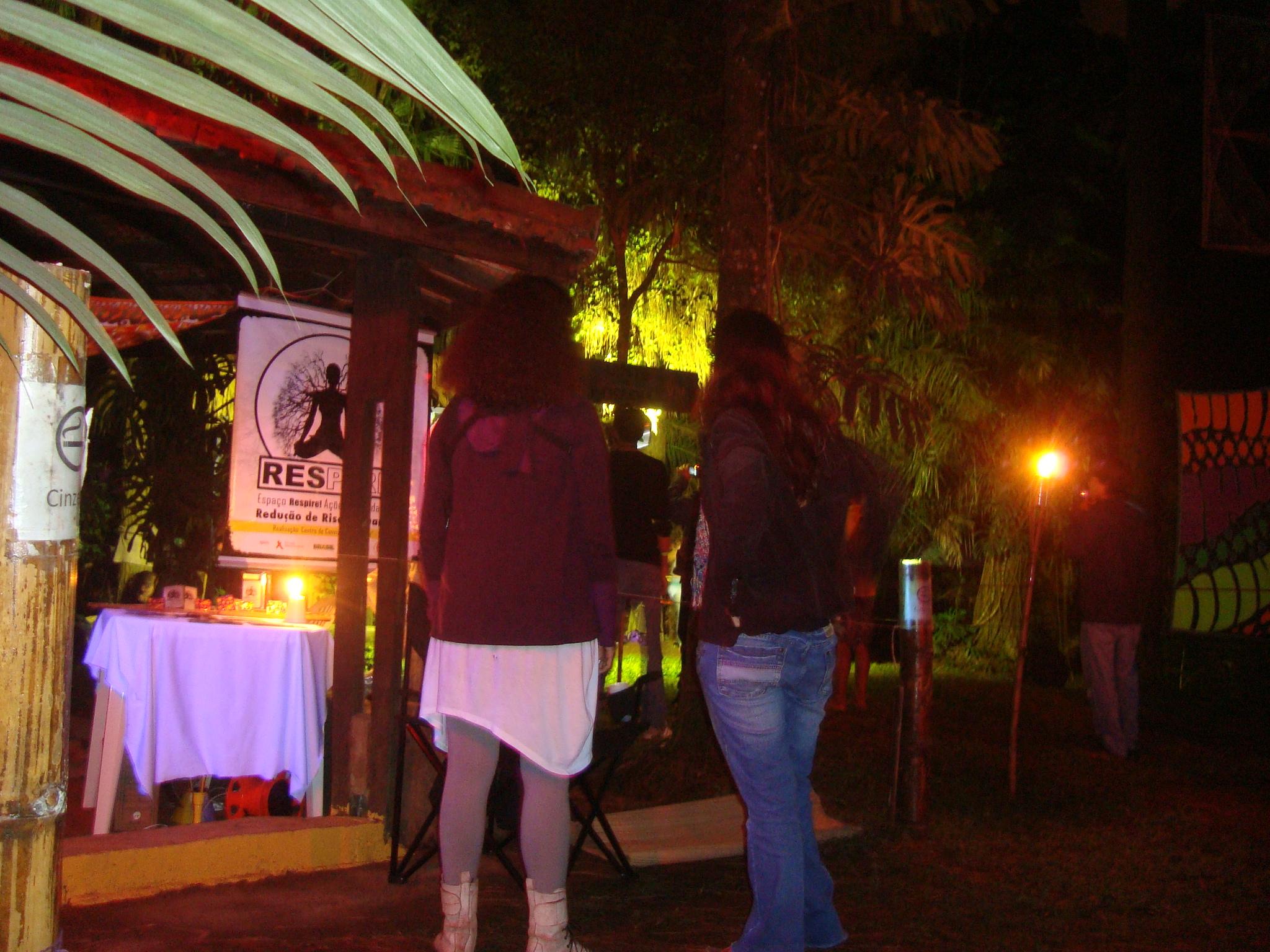 As ações do Projeto Respire em festivais de música eletrônica como o Universo Paralelo, na Bahia