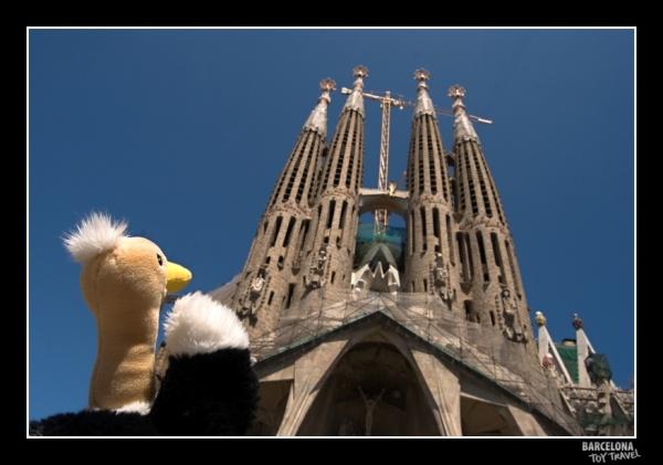 A catedral Sagrada Família