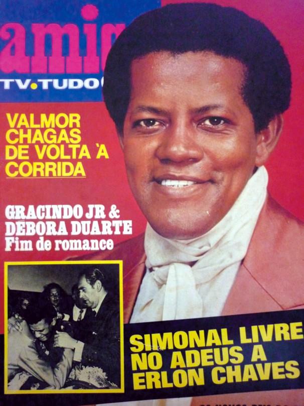 Capa da revista Amiga depois de sua morte