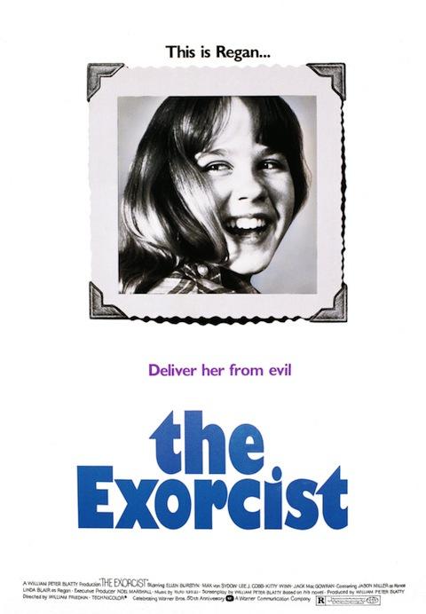 Poster rejeitado de O Exorcista (1973)