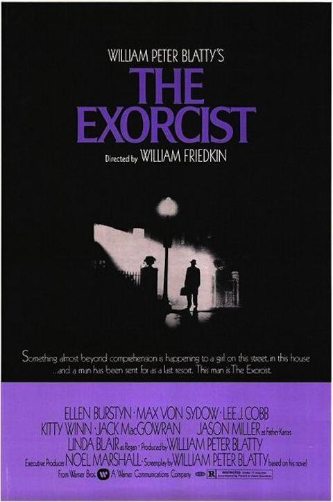 Poster oficial de O Exorcista (1973)