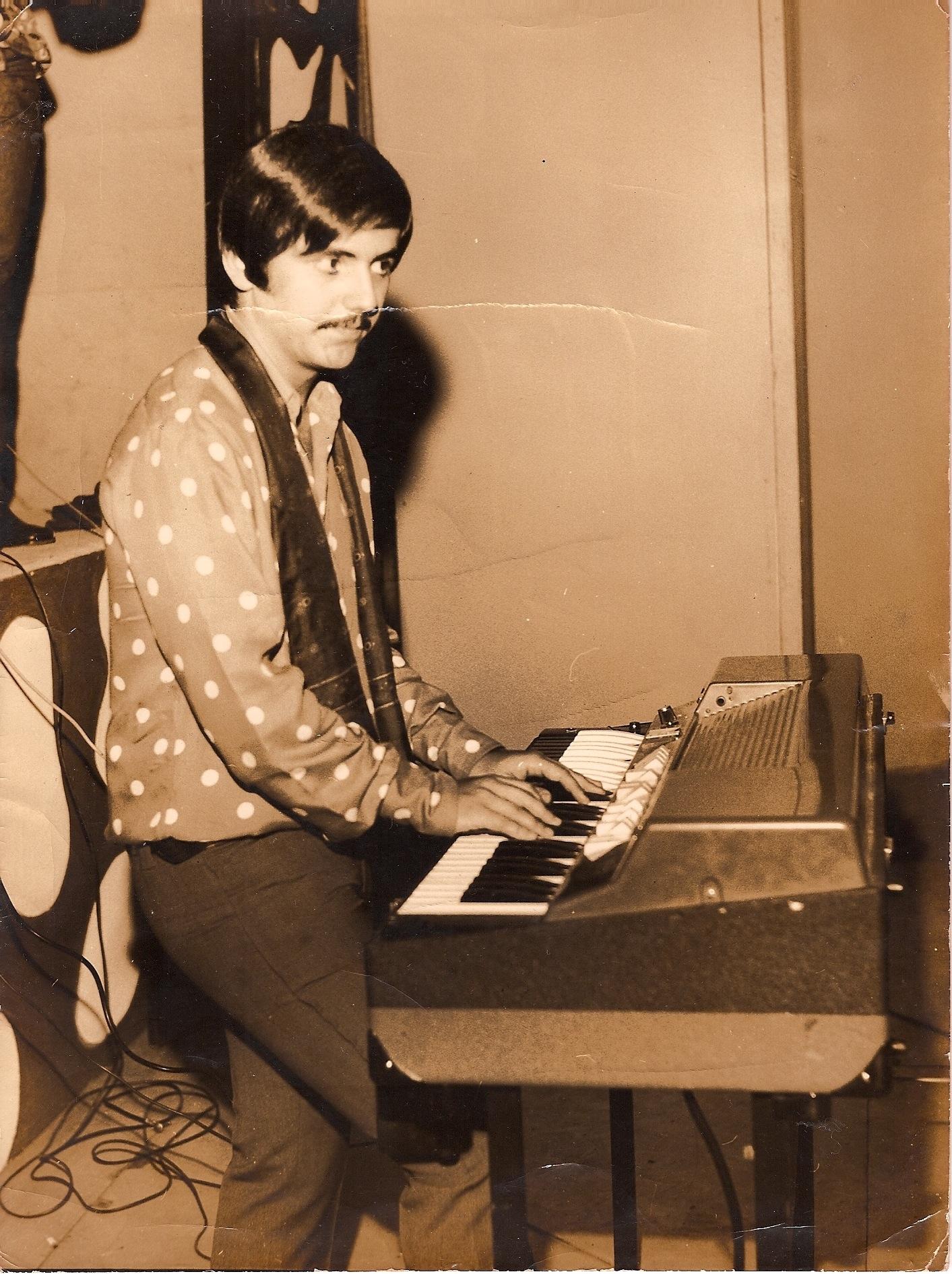 Emilio Carreira na época de O Bando