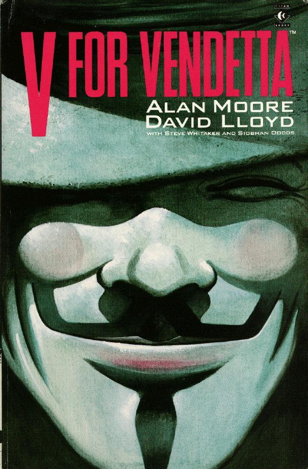 Guy Fawkes nos quadrinhos