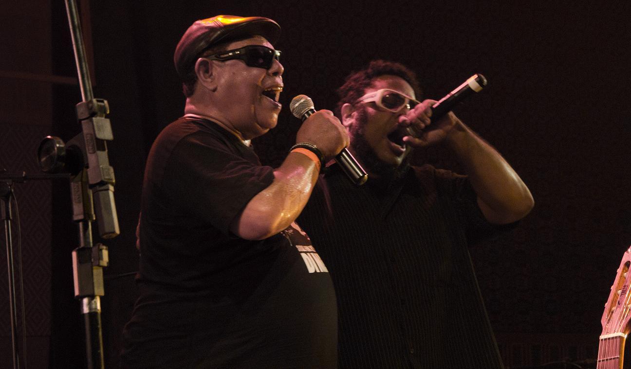 Show feito com BNegão em São Paulo