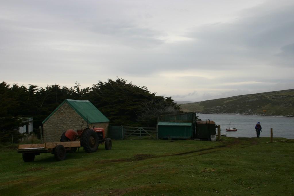 Zona rural do arquipélago inglês