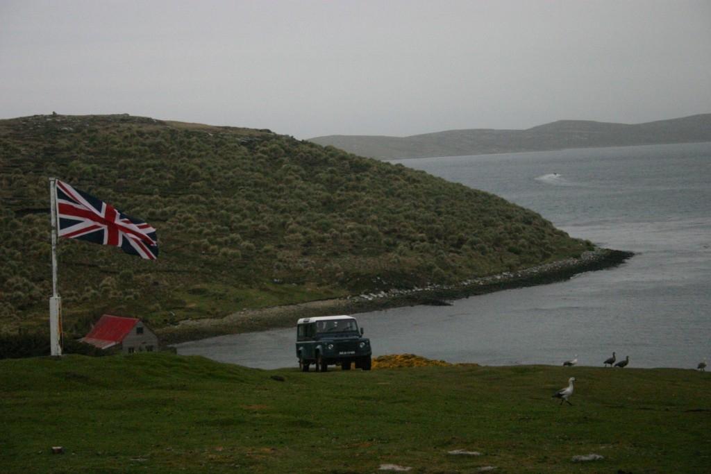 Área isolada das Falkland/Malvinas