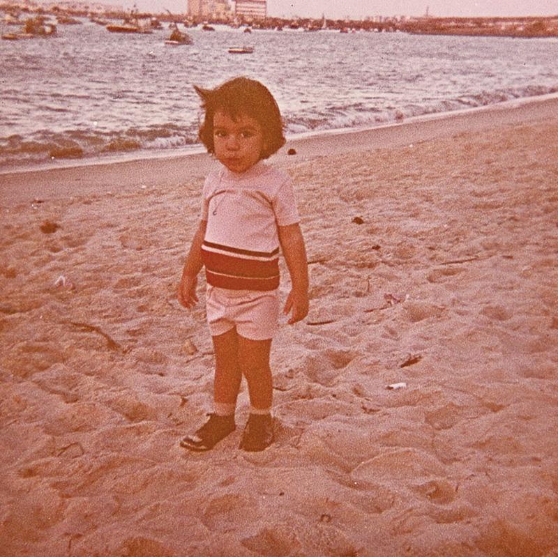 Catatau já namorava o mar aos dois anos de idade