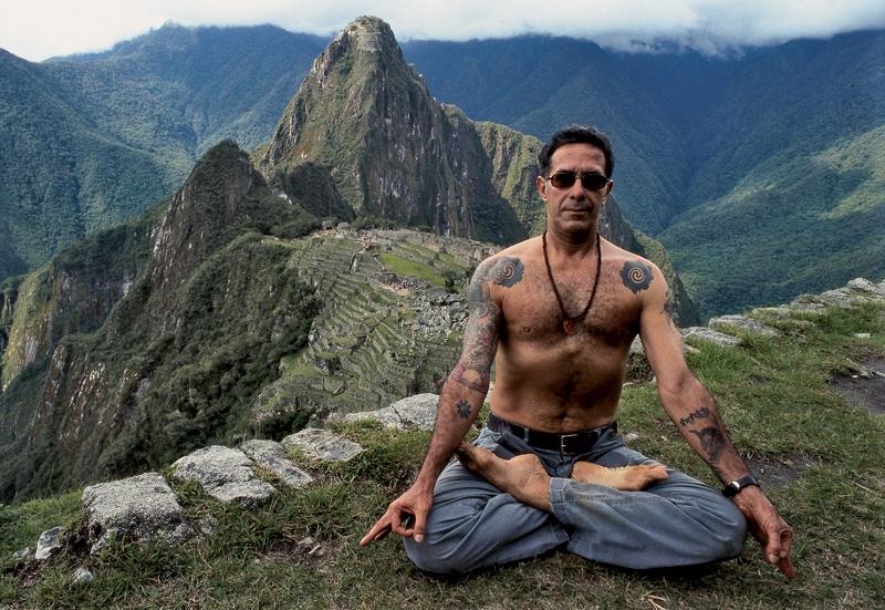 Meditando em Machu Pichu, 2007