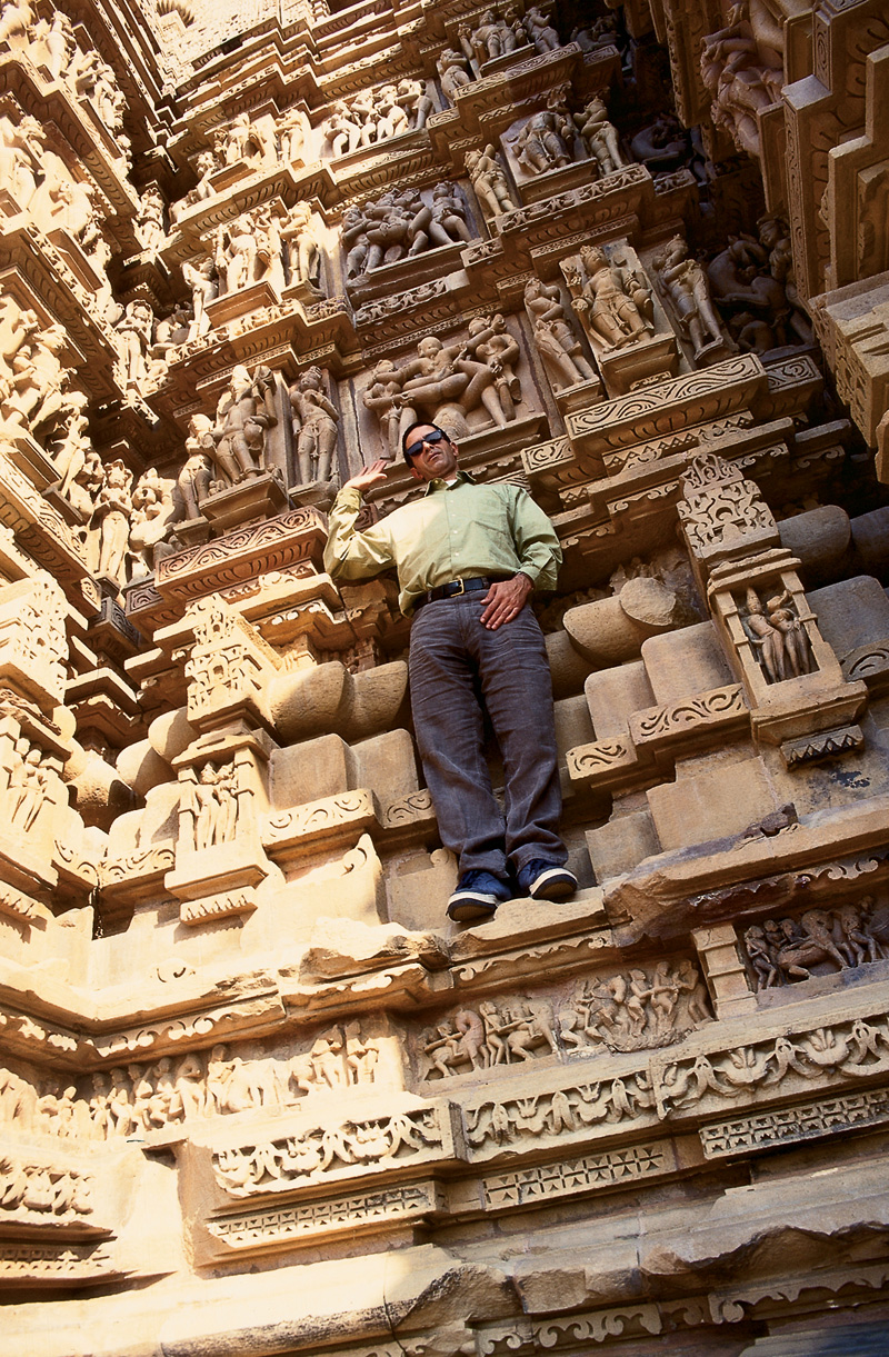 Templo do Kama Sutra; Índia, 1998