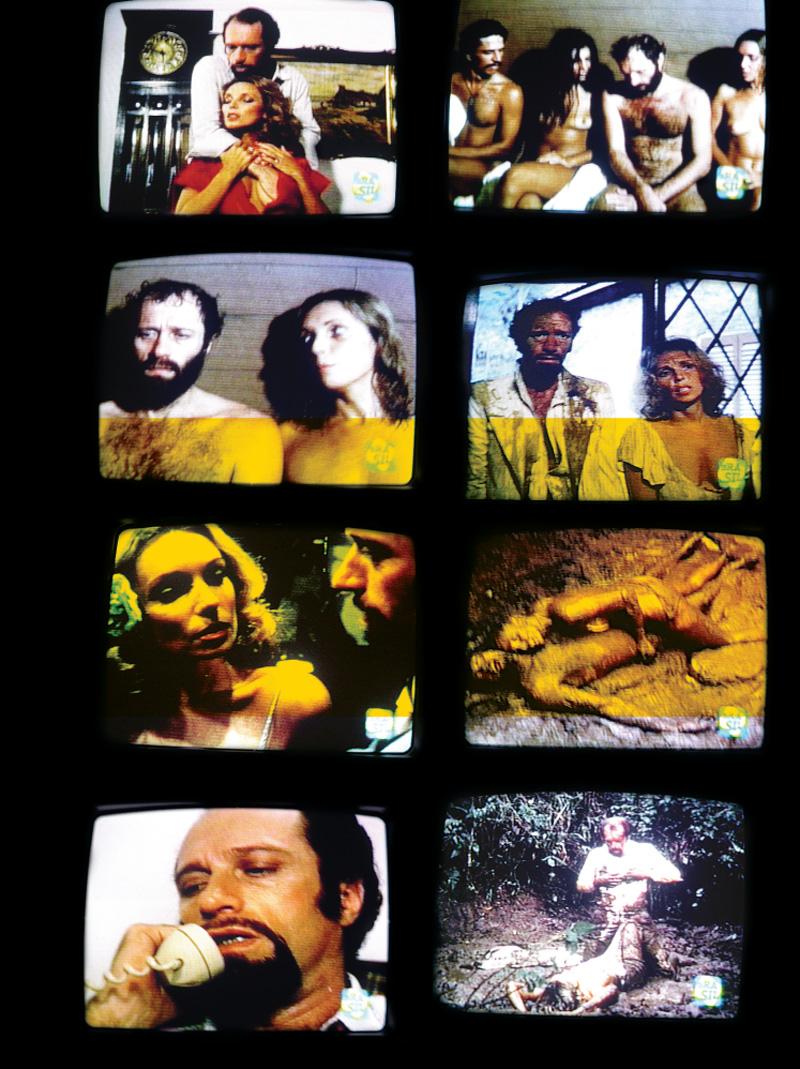 Cenas de O bom marido (1978), em que o personagem de Pereio monta um negócio em que oferece a mulher a executivos estrangeiros: clássico da cafajestag